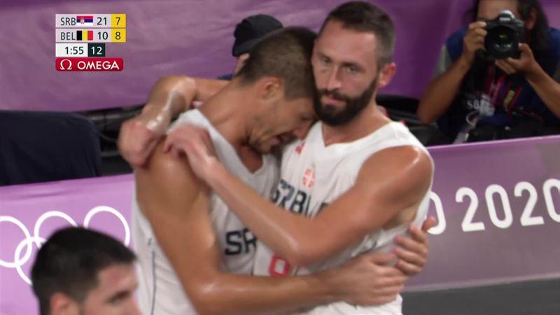 Tokyo 2020 - SERBIA vs BELGIUM - 3x3 Basketball - Olympic Highlights