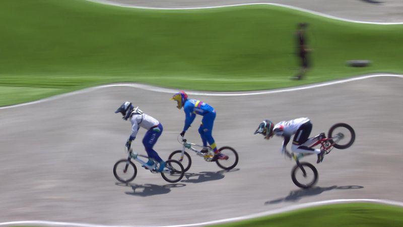 BMX | Casi cae de boca: El tremendo accidente de Alfredo Campo