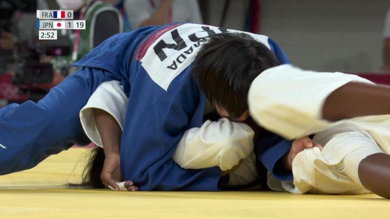 Judo Women -78kg Final - Tokyo 2020 - Olympic Highlights