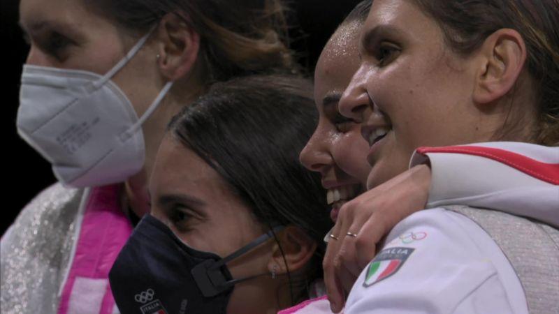 Tokyo 2020 -  Women's Foil Team Finals ITA vs USA - Fencing - Olympic Highlights