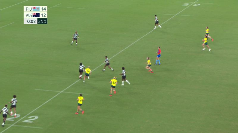 Tokyo 2020 - Fiji mod Australia - Rugby 7 – OL-højdepunkter