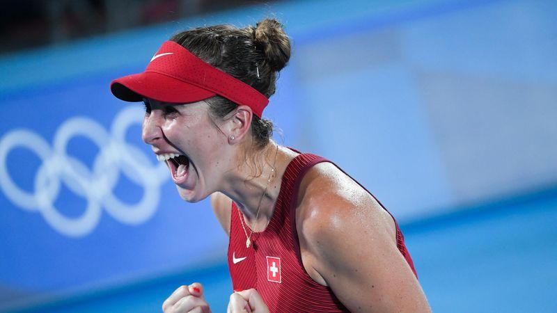 Tenis   Bencic-Vondroušová: La suiza se corona con la medalla de oro (7-5, 2-6 y 6-3)
