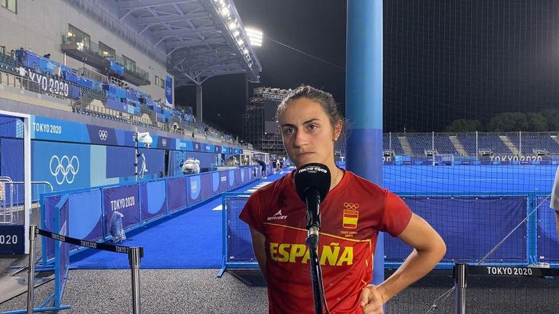 "Beatriz Pérez, en Eurosport: ""Nos vamos con la cabeza alta"""