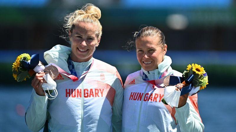 Bronzérmes lett a Kozák-Bodonyi duó női K-2 500 méteren