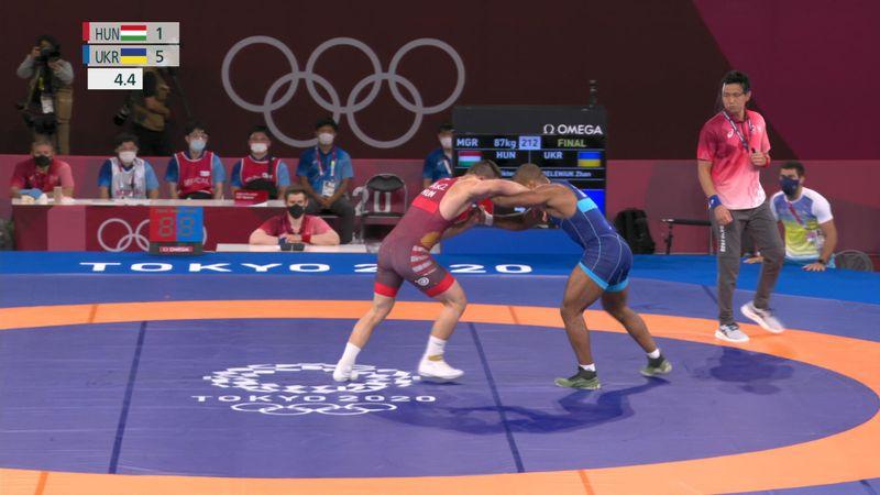 Wrestling Men's Greco-Roman 87kg Final - Tokio 2020 - Momentos destacados de los Juegos Olímpicos