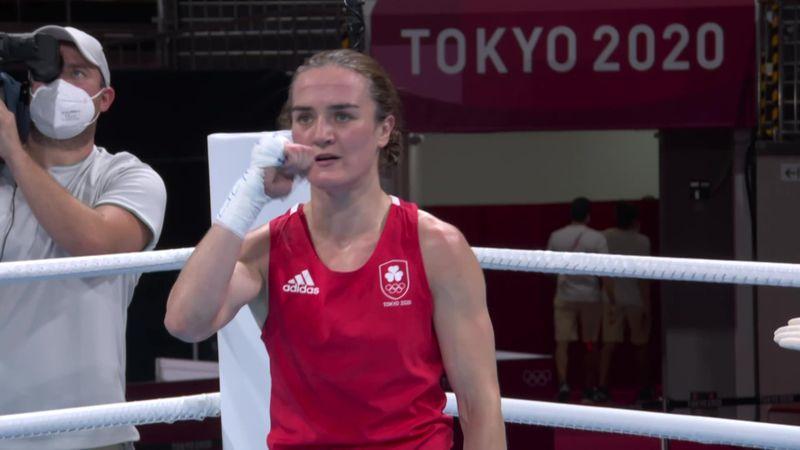 Tokyo 2020 - Ireland mot Thailand - Boxing - Women's Light (57-60kg) – OL-høydepunkter