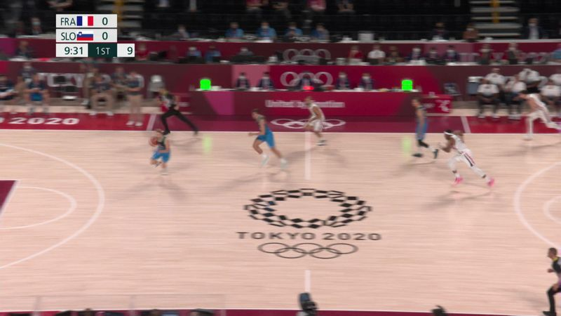 Baloncesto (H)   Francia - Eslovenia: Doncic se queda sin final olímpica