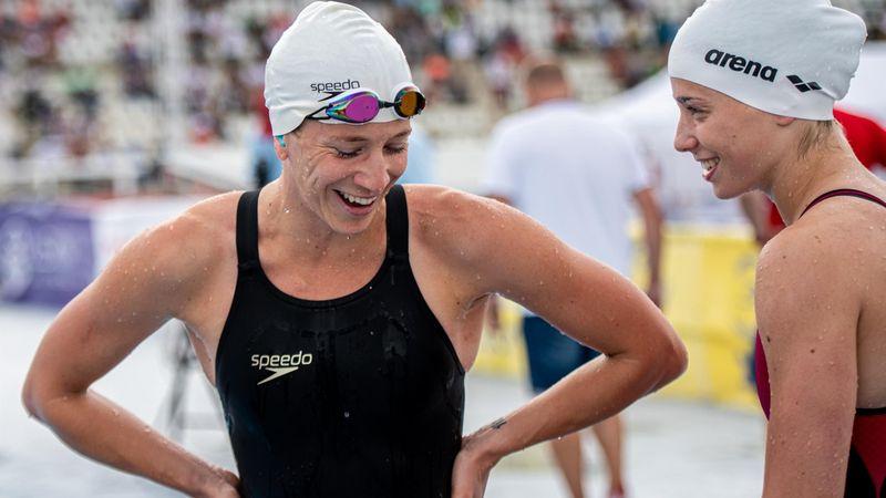 Eddig remek, Gulyás Michelle a 2. legjobb úszásban
