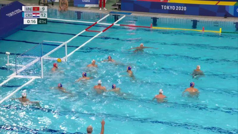 Tokyo 2020 - Croatia mot Montenegro - Water Polo Men's Classification – OL-høydepunkter