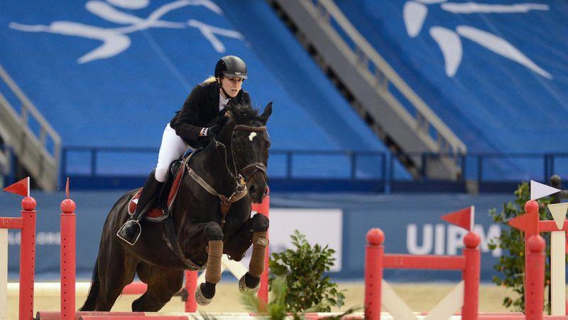 Kovács Sarolta nagyszerű lovaglás után 3. helyről várja a kombinált számot