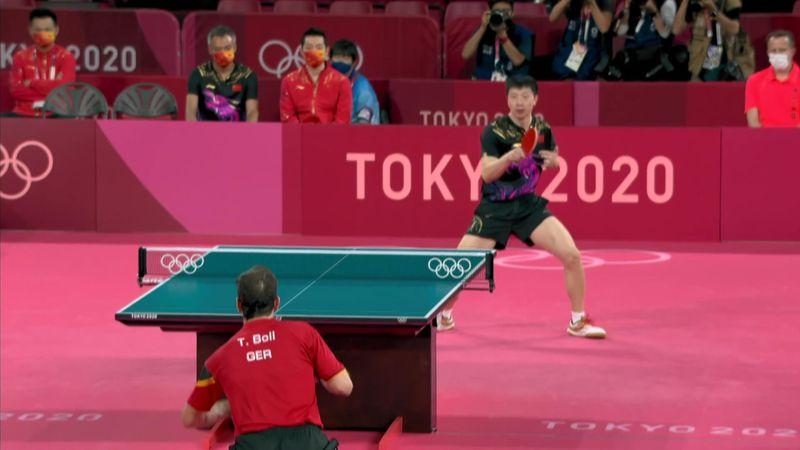 Asztalitenisz: Kína - Németország - Férfi csapat döntő