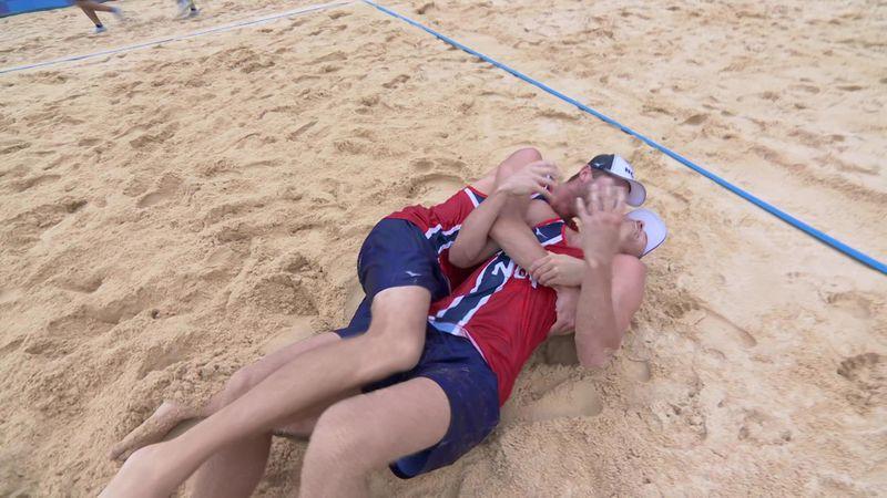 A norvégok nyerték az aranyérmet férfi strandröplabdában