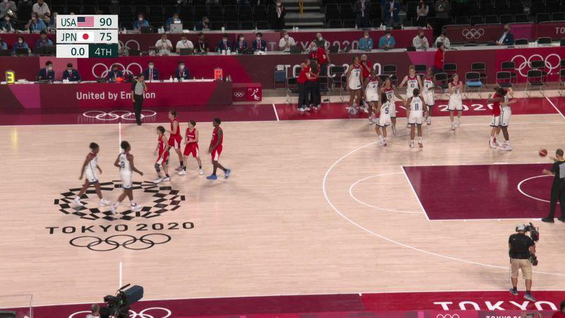 Tokio 2020 - USA vs Japan - Baloncesto – Momentos destacados de los Juegos Olímpicos
