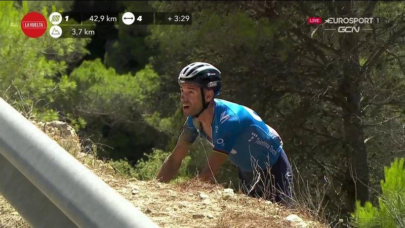La escalofriante caída de Valverde en el Collao que nos dejó paralizados