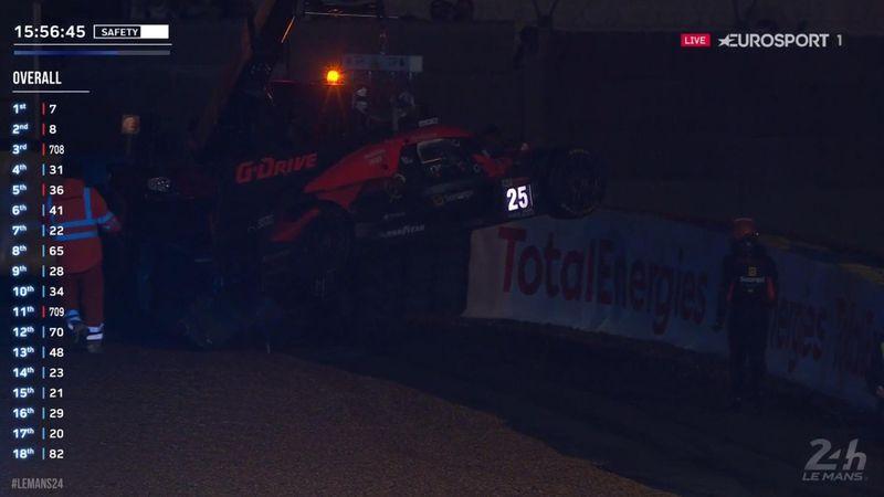 Roberto Merhi dice adiós tras el accidente de su compañero Andrade