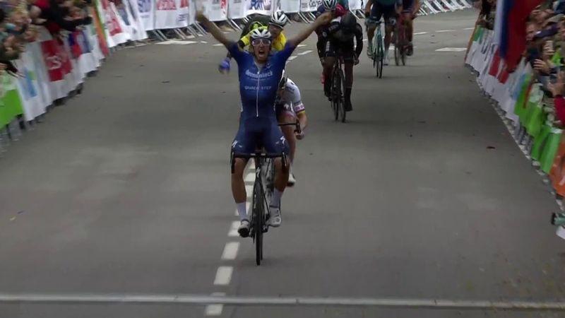 Steimle se encuentra la victoria tras una caída y Sagan vuelve a dar al palo