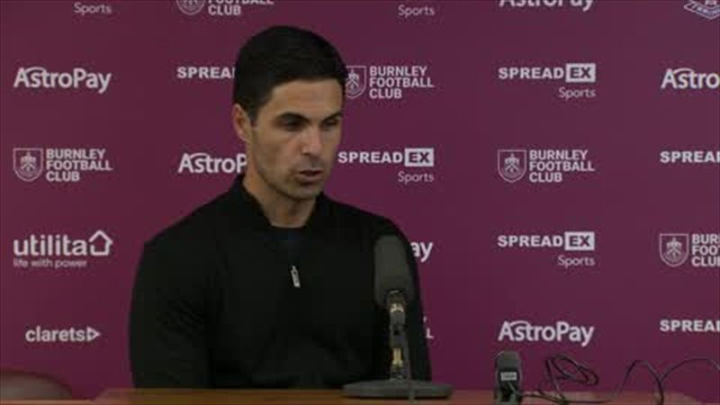 'It was a really hard-fought victory' - Arteta on 1-0 win over Burnley