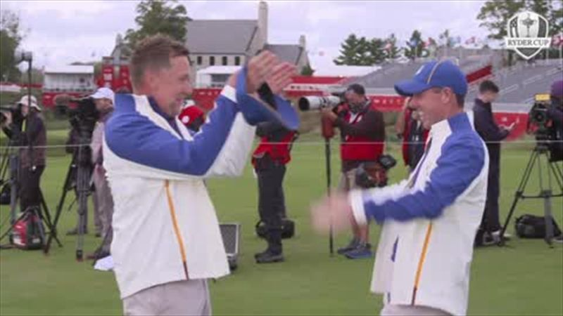 Europe Ryder Cup team in jovial mood ahead of 43rd edition at Whistling Straits