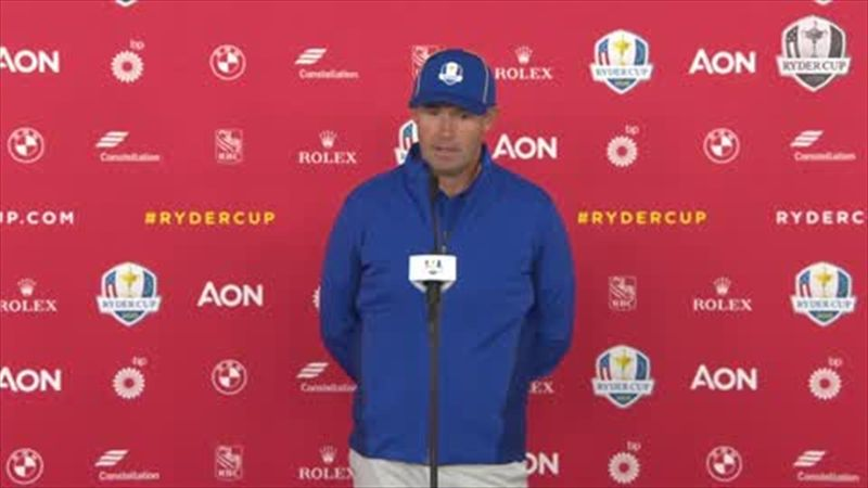 Europe captain Harrington reveals use of 'Covid envelope' at Ryder Cup
