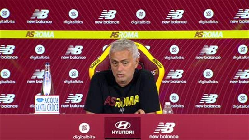 'We won three matches not 30' - Mourinho urges caution at 'euphoric' Roma