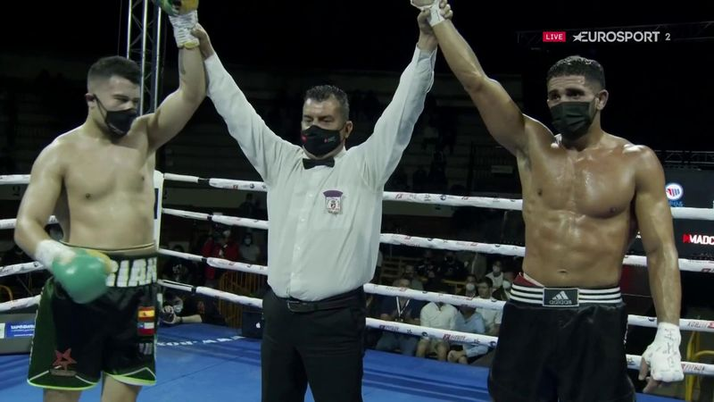 Adrián Torres y Zouad firman un combate nulo tras un gran expectáculo