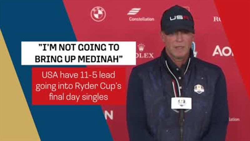 'I'm not going to bring up Medinah' - Stricker says all focus on final day not history