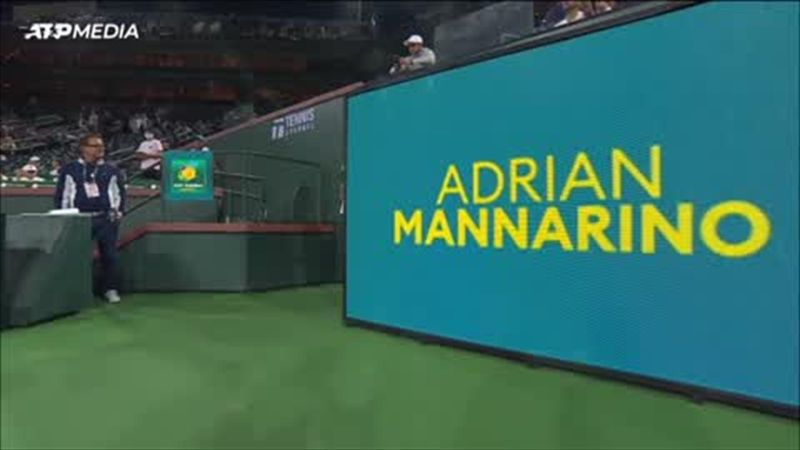 Highlights: Murray eases past Mannarino to reach second round