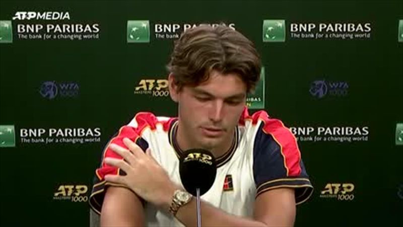 'Easily the biggest win of my life' - Fritz on beating Zverev at Indian Wells