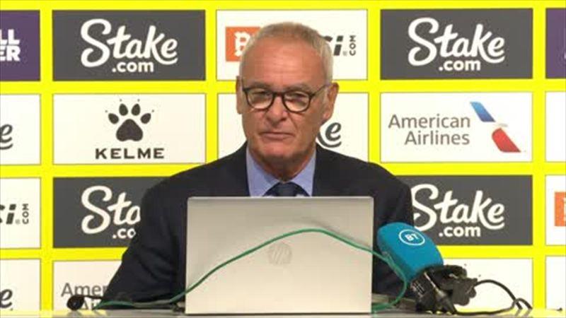 Ranieri 'very positive' despite suffering his biggest ever Premier League defeat