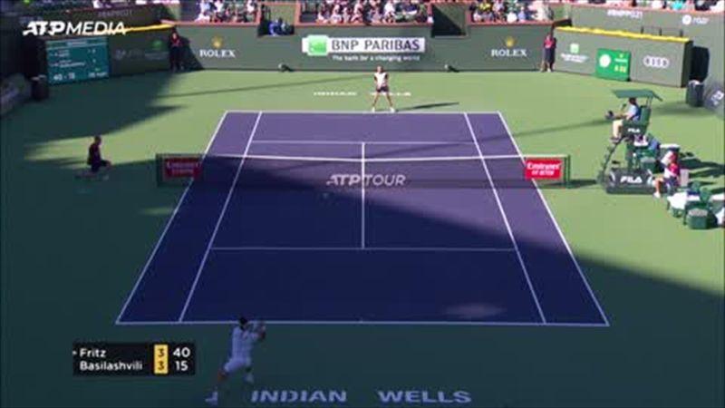 Indian Wells: Rezumatul semifinalei dintre Basilashvili și Fritz, câștigată de gruzin în 2 seturi