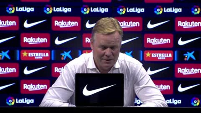 """""""Fati and Depay have a connection"""" - says Koeman as Barcelona beat Valencia"""