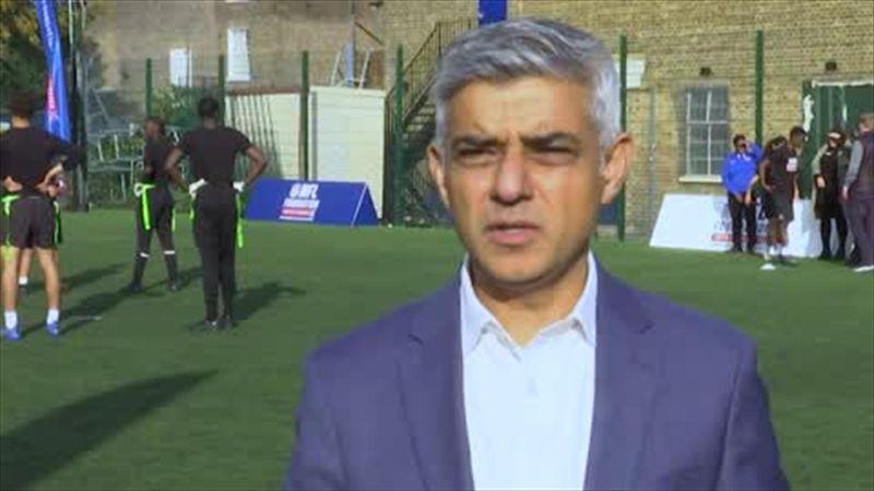 """It's nonsense to think that fan trouble will cost us 2030 WC"" Sadiq Khan"