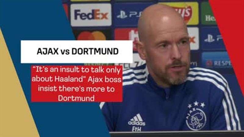 Ten Hag: An insult to Dortmund to only talk about Haaland