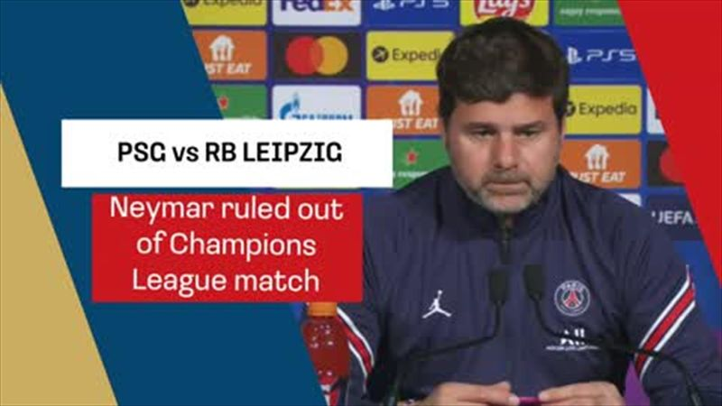Pochettino confirms Neymar absence for RB Leipzig claslh