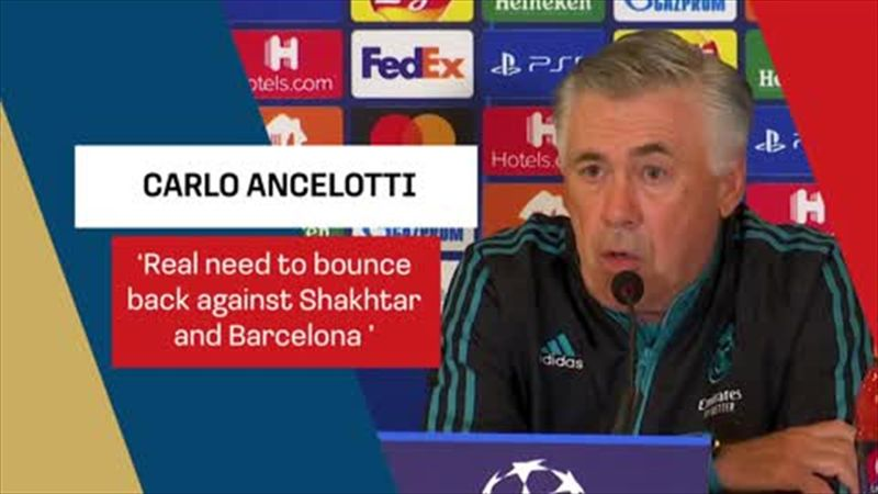 Ancelotti: Real are motivated to bounce back