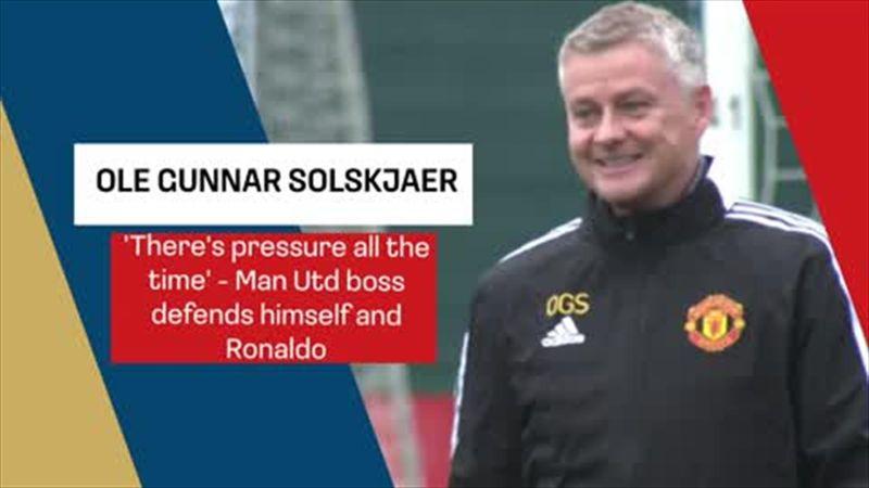 Solskjaer defends himself and Ronaldo ahead of Man Utd CL clash with Atalanta