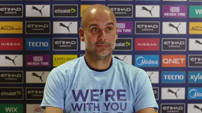 'Here is nicer' - Guardiola says the Spanish media is more intense than the British media