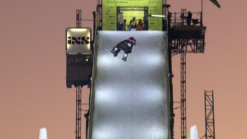 Big Air in Chur: Teenie Murase schlägt Gasser und holt ersten Weltcupsieg
