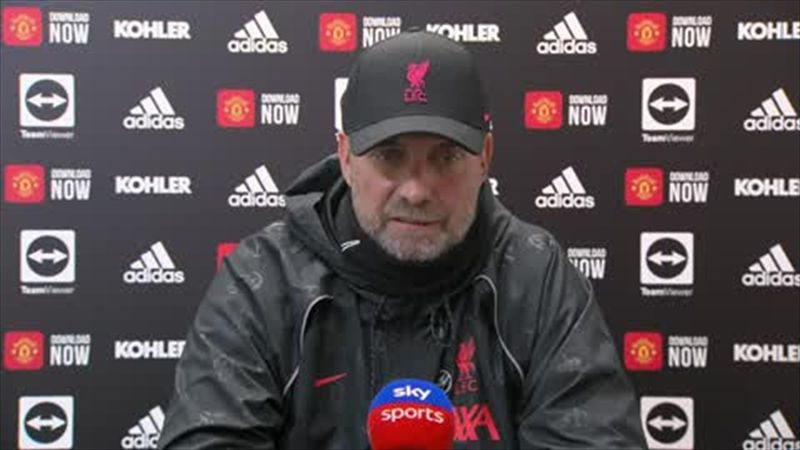 'I don't want to be in Solskjaer's shoes now' - Klopp after Liverpool thrash Man Utd