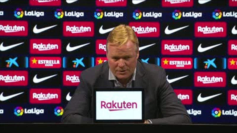 'We showed we're not inferior to Real' - Koeman optimistic despite defeat in Clasico