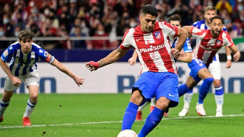Resumen Atlético-Real Sociedad: Suárez emerge ante el líder (2-2)