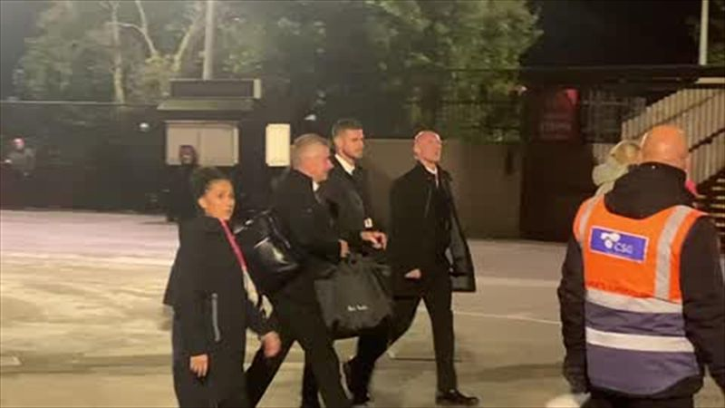 Solskjaer signs autographs and poses with fans after 5-0 thumping to Liverpool