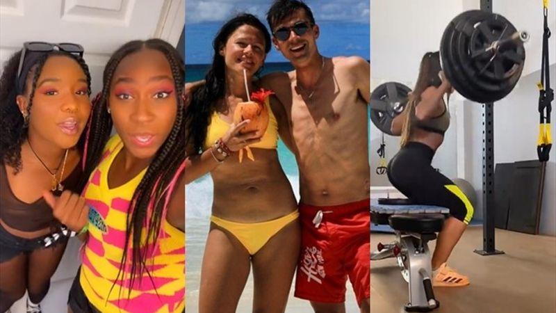 Lo más social: Las vacaciones de Roglic y la loca transformación de Gauff