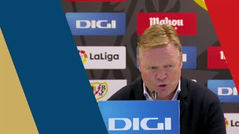 'It's incredible that we lost' - Koeman on Barca's defeat at Rayo