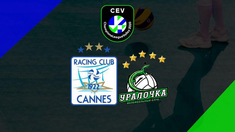 RC Cannes (F) - Uralochka-NTMK Ekaterinburg (F)