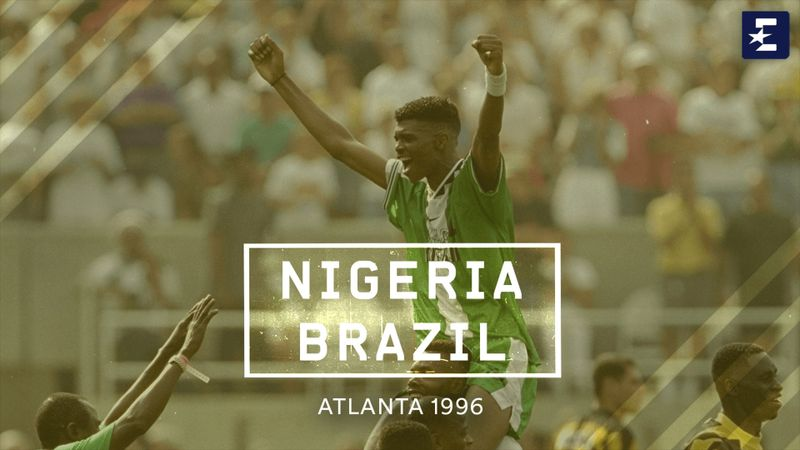 Atlanta 1996   Brazilië - Nigeria