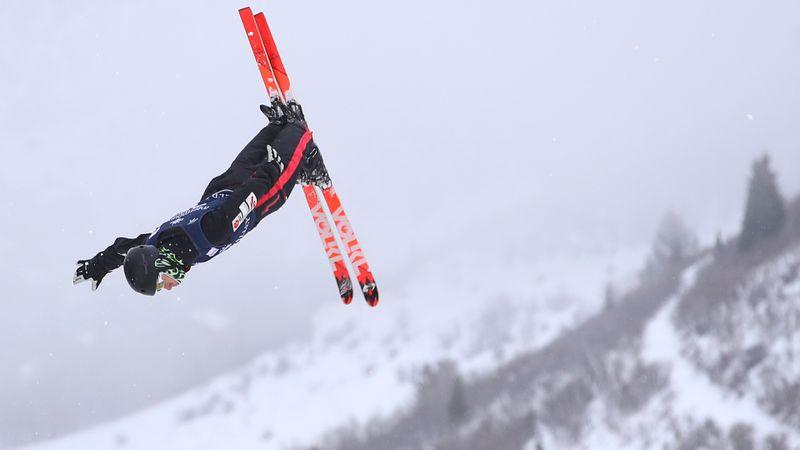 Ruka Saut acrobatique