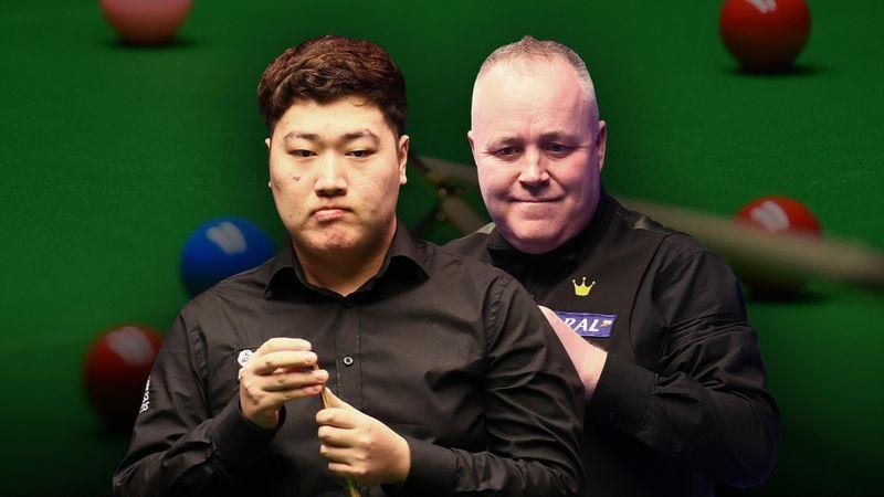Bingtao Yan - John Higgins/ PARTIE 1