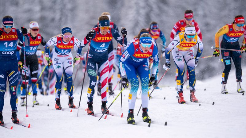 Val di Fiemme | 10km TC donne mass start