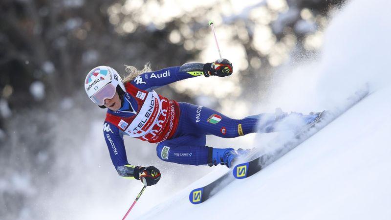 WK Alpineskiën|2e Run Reuzenslalom Vrouwen